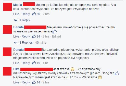 """Komentarze do artykułu serwisu """"naTemat"""". Fot: Facebook"""