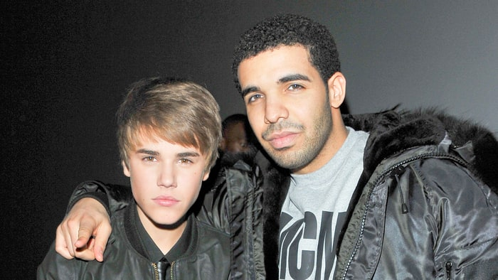 Justin Bieber and Drake Credit: George Pimentel/WireImage